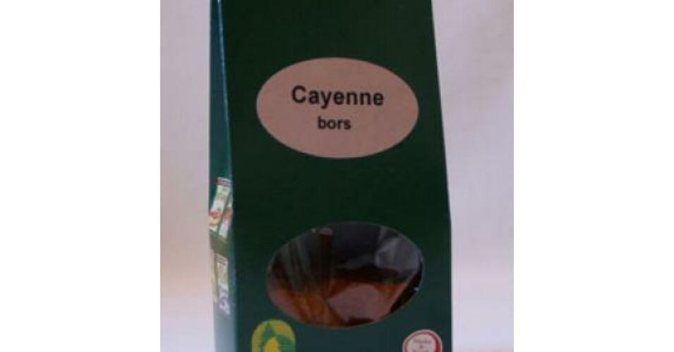 Cayenne bors visszér ellen