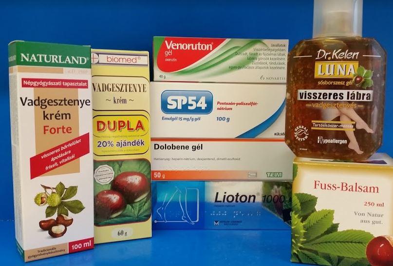 vérhígító termékek visszér ellen