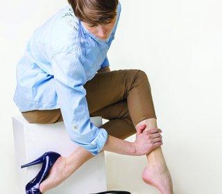a láb visszérgyulladása